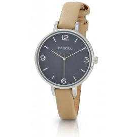 Isadora Coin Blue & Natural Watch image