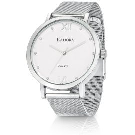 Isadora Merida Silver Watch image