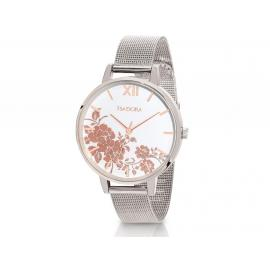 Isadora Andorra Silver & Rose Watch image