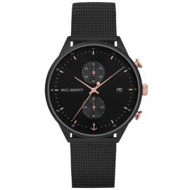 Paul Hewitt Chrono Line Black/Rose Watch image