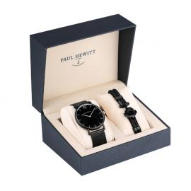 Paul Hewitt Perfect Match Sailor Line Black Bracelet Giftset image