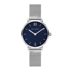 Paul Hewitt Modest Line Silver/Blue Watch image