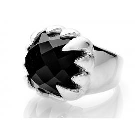 Stolen Girlfriends Club Claw Ring - Onyx image