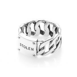 Stolen Girlfriends Club Curb Ring Wide image