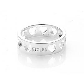 Stolen Girlfriends Club Heartless Band Ring image