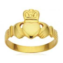 9ct Claddagh Ring image