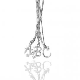 Karen Walker Stg Love Letters Initial Necklace image