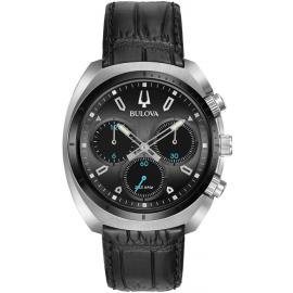 Bulova Mens Curve Quartz Chronograph Watch image