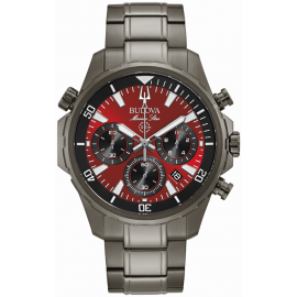 Bulova Men's Marine Star Quartz Chronograph Watch image