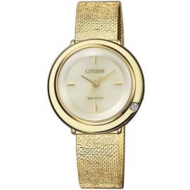 Citizen Ladies Diamond Eco Drive Watch image