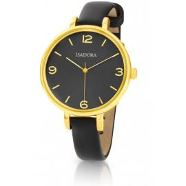 Isadora Coin Gold & Black Watch image