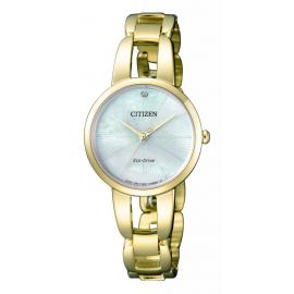 Ladies Diamond Eco Drive Watch image