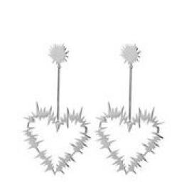 Karen Walker Stg Electric Heart Drop Earring image