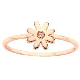 Karen Walker 9ct Rose Mini Daisy Ring image