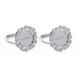 Karen Walker Stg Love Hate Ring image