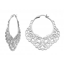 Karen Walker Stg Filigree Hoop Earrings image