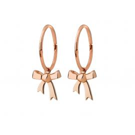 Karen Walker 9ct Rose Mini Bow Sleepers image
