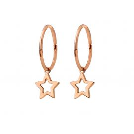 Karen Walker 9ct Rose Mini Star Sleepers image