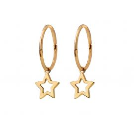 Karen Walker 9ct Mini Star Sleepers image