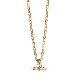 Karen Walker 9ct Arrow Fob Chain image
