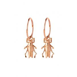 Karen Walker 9ct Rose Grasshopper Sleepers image