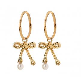 Karen Walker 9ct Love Knot Earrings image