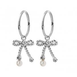 Karen Walker Stg Love Knot Earrings image