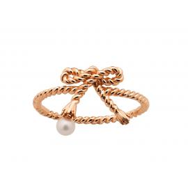 Karen Walker 9ct Rose Love Knot Ring image