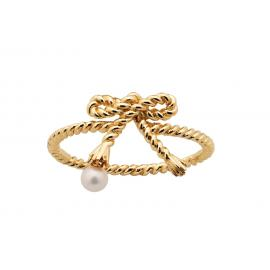 Karen Walker 9ct Love Knot Ring image