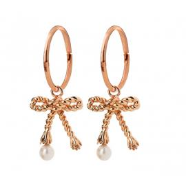Karen Walker 9ct Rose Love Knot Earrings image