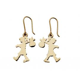 Karen Walker 9ct Runaway Girl Hook Earrings image