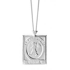 Karen Walker Stg Utopia Stamp Necklace image