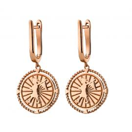 Karen Walker 9ct Rose Voyager Earrings image