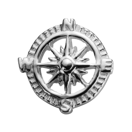Stow Stg Compass Charm image