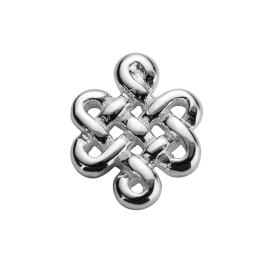 Stow Stg Infinity Knot Charm image