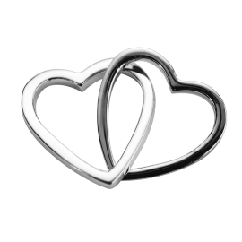 Stow Stg Love Hearts Charm image