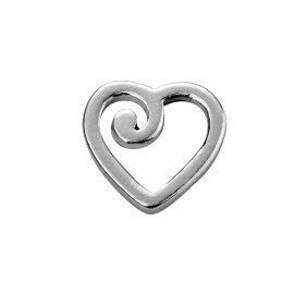 Stow Stg Precious Heart Charm image