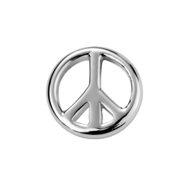 Stow Stg Peace Charm image
