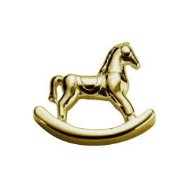 Stow 9ct Rocking Horse Charm image