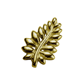 Stow 9ct NZ Fern Charm image