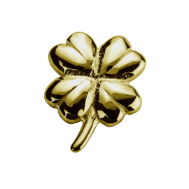 Stow 9ct Lucky Clover Charm image
