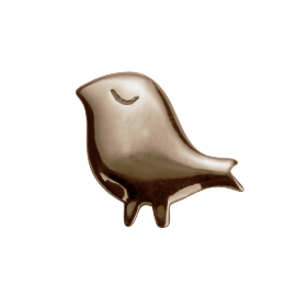 Stow 9ct Rose Little Bird Charm image