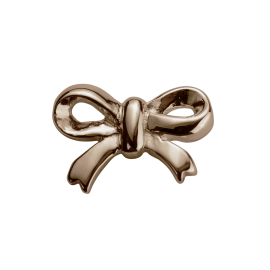 Stow 9ct Rose Bow Charm image