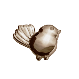 Stow 9ct Rose Fantail Charm image
