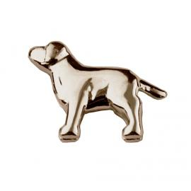 Stow 9ct Rose Dog Charm image