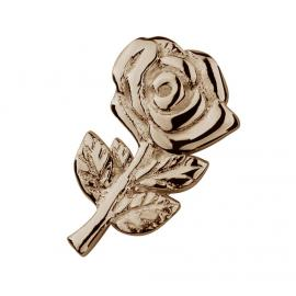 Stow 9ct Rose Rose Charm image