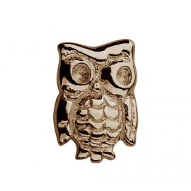 Stow 9ct Rose Owl Charm image