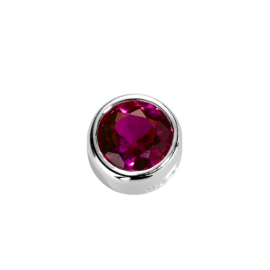 Stow Ruby CZ Virtue Charm image