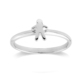Stow Sterling Silver Stowaway Boy Ring image