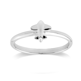 Stow Sterling Silver Aeroplane Ring image